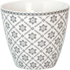 GreenGate Latte cup Alba pale grey