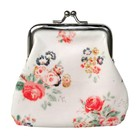 Coin Purse Flowers Chintz
