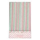 GreenGate Paper straw Ziggy pink