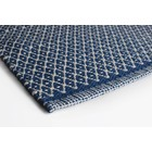 Aspegren Teppichläufer Rhombe blau 70x130