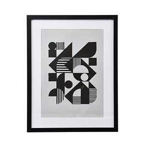 House Doctor Bild Baek mit Rahmen 43,2x55,2