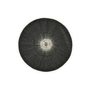 House Doctor Platzdeckchen Circle schwarz
