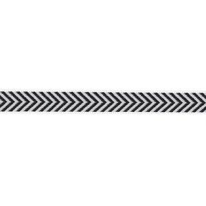 Aspegren Webband Herringbone black, 3m