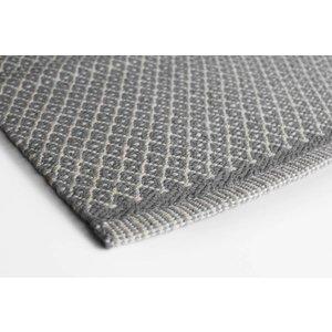 Aspegren Flor Mat Rhombe grey, 70x130 cm
