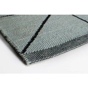 Aspegren Flor Mat Crystal aqua, 70x200 cm