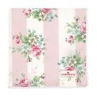 GreenGate Bread basket napkin Marie pale pink