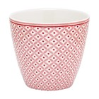 GreenGate Latte Cup Noa raspberry