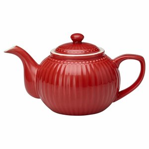 GreenGate Teapot Alice red