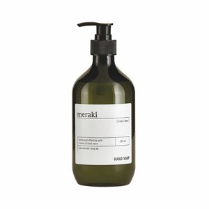 Meraki Handseife Linen Dew / Minze Spender, 500 ml