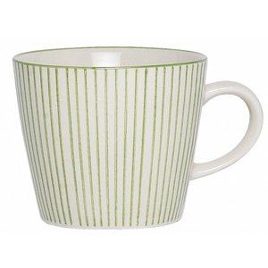 IB Laursen Tasse Casablanca grün Streif