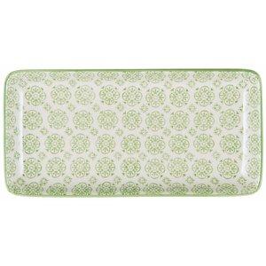IB Laursen Tablett / Teller Casablanca grün