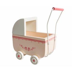 Maileg Kleiner Puppenwagen light pink für Micro