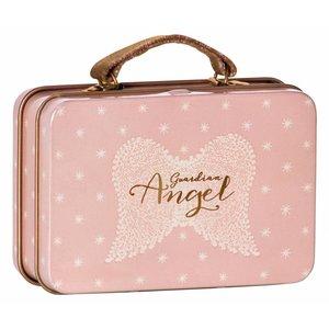 Maileg Kleiner Metallkoffer Angel Wings rosa