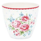 GreenGate Latte Cup Tess white