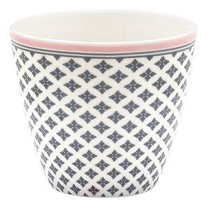 GreenGate Latte Cup Sasha dark grey