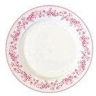 GreenGate Plate Audrey raspberry