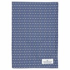 GreenGate Tea Towel Dawn blue