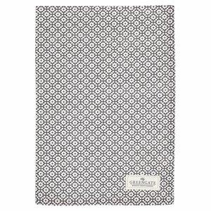 Green Gate Tea Towel Jasmina warm grey
