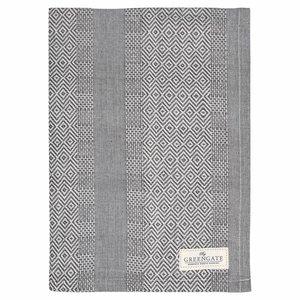 GreenGate Tea Towel Sille warm grey