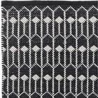 Liv Interior Teppichläufer TULIP schwarz