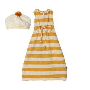 Maileg Hasenkleidung yellow striped für Mega Maxi