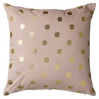 Bloomingville Cushion Cover Rose/Gold Confetti 45x45