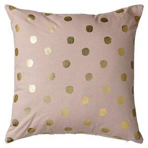 Bloomingville Cushion Rose/Gold Confetti 45x45