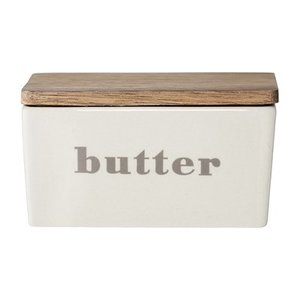 Bloomingville Butter Box Stoneware grey 12,5x9x7h