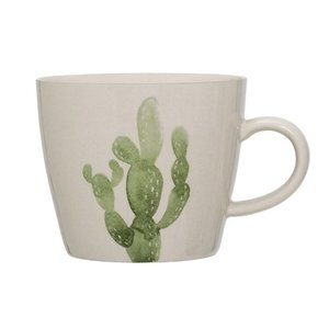 Bloomingville Jade Mug green Cactus 9,5x8h