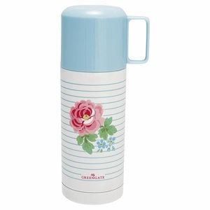 GreenGate Thermosflasche Lily white, 350 ml