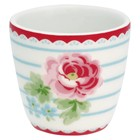 GreenGate Egg cup Lily white