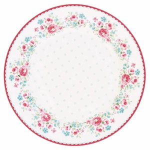 GreenGate Plate Tess white