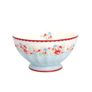 GreenGate French Bowl Tess white XL