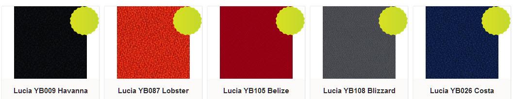 Standaard Lucia kleuren
