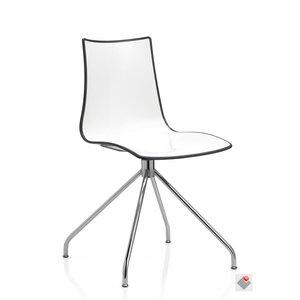 SCAB Design stoel ZEBRA BICOLORE TWIST