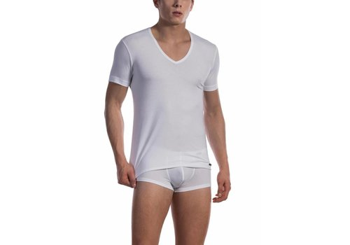 Olaf Benz RED 1601 V-Neck (Low) White