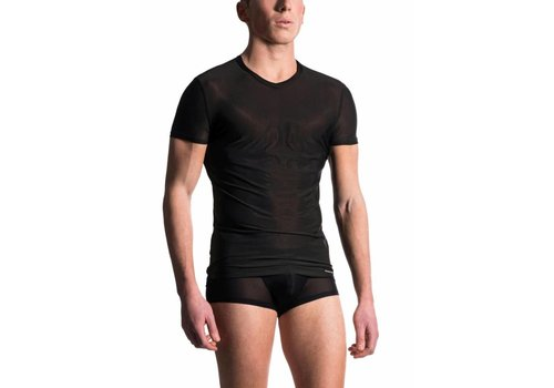MANSTORE M101 T-Shirt V-Neck Black