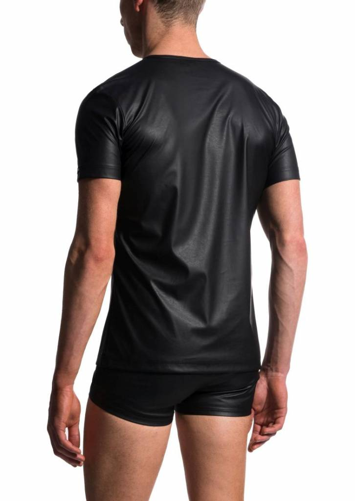 Manstore m104 t shirt v neck black olafbenz for V neck black t shirt