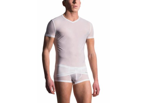 MANSTORE M101 T-Shirt V-Neck White