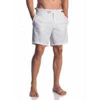 Olaf Benz BLU 1662 Shorts White & Beachsandals for free