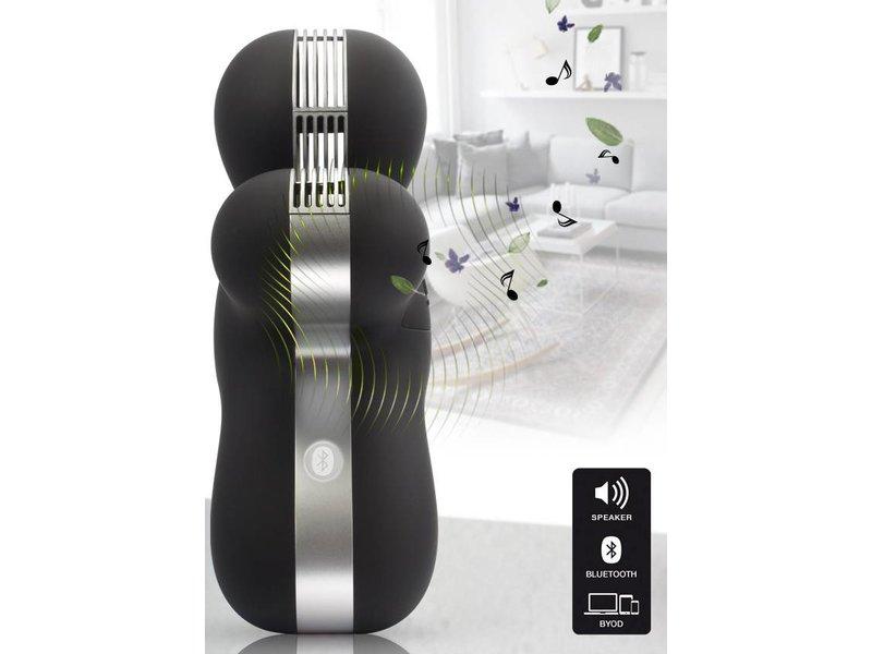 Mr & Mrs Fragrance George Scent & Sound Diffuser - Zwart