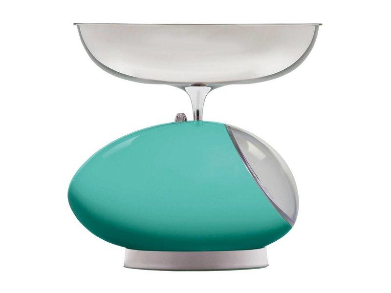 Viceversa Keukenweegschaal Tix - Turquoise