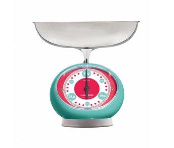 Keukenweegschaal Tix - Turquoise