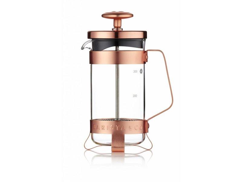 Barista & Co Plunger voor 3 koppen - Electric Copper