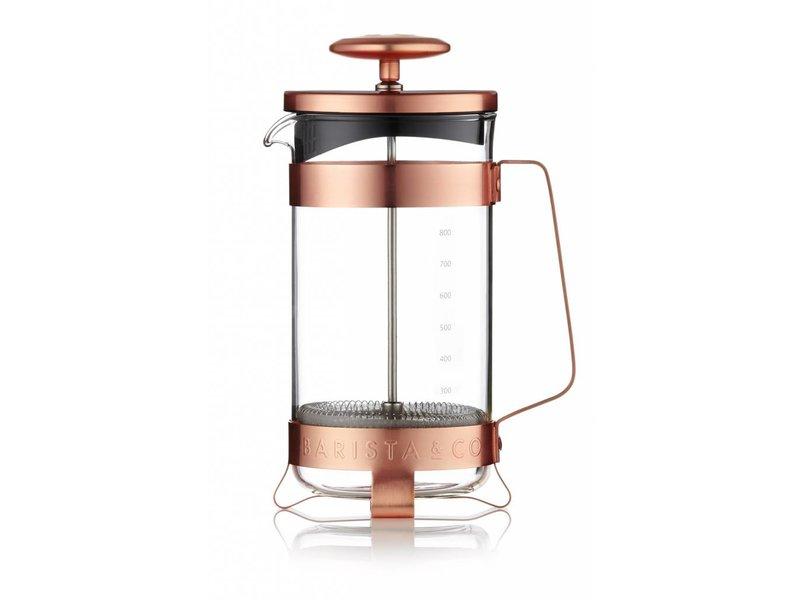 Barista & Co Plunger voor 8 koppen - Electric Copper