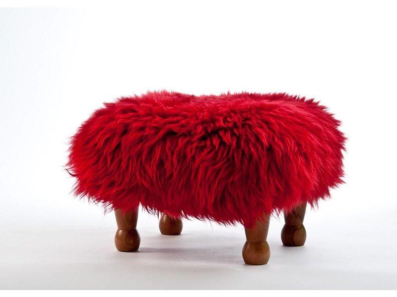 Baa Stool Anwen - Dragon Red