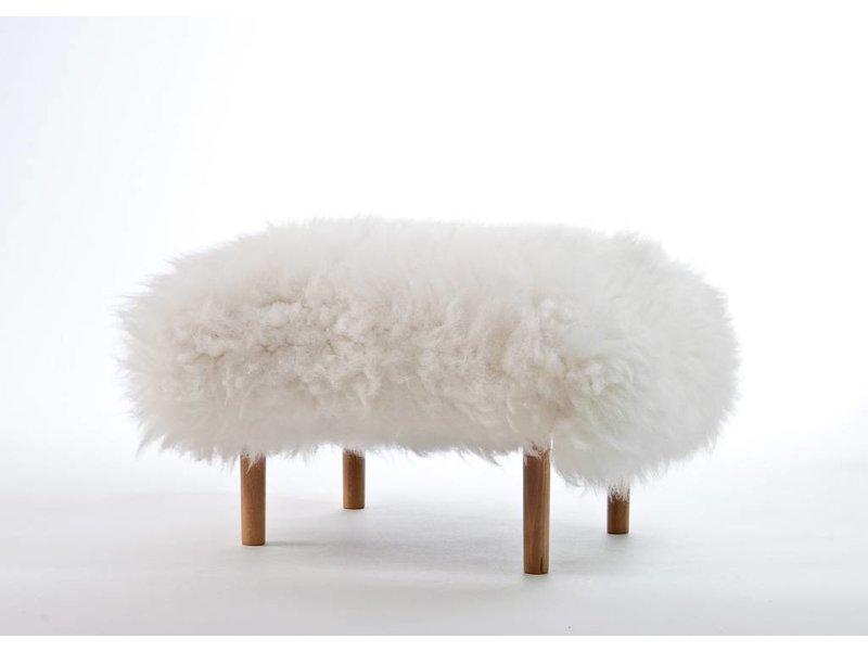 Baa Stool Bethan - Natural Ivory