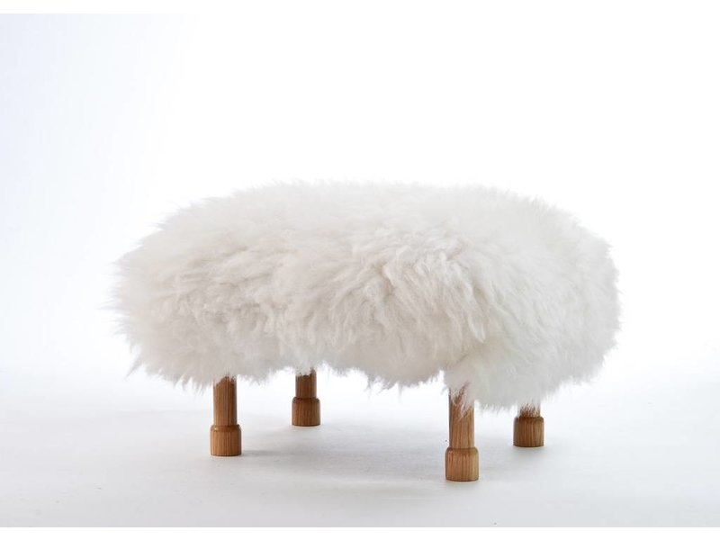 Baa Stool Dilys - Natural Ivory