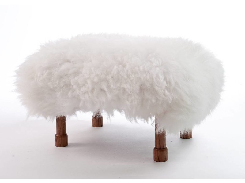 Baa Stool Delyth - Natural Ivory