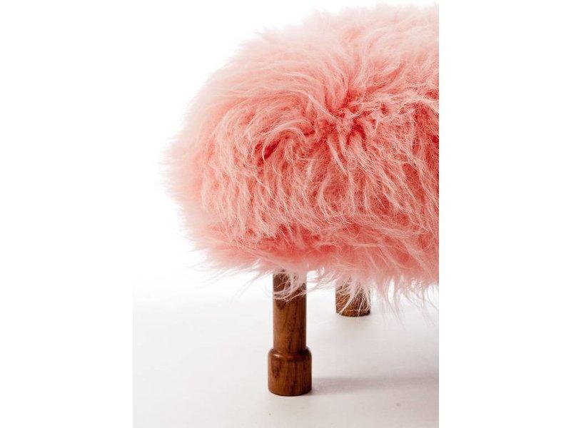 Baa Stool Delyth - Baby Pink